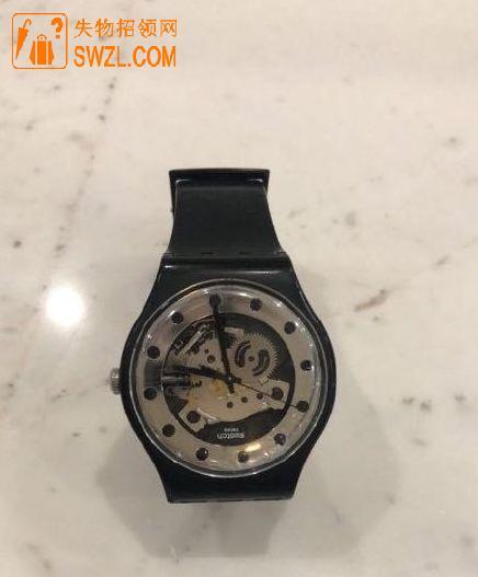 好心店家老板在重庆渝中区天街捡到手表